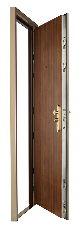 Galerie photo de la porte blind e fichet spheris his par for Decoration porte blindee